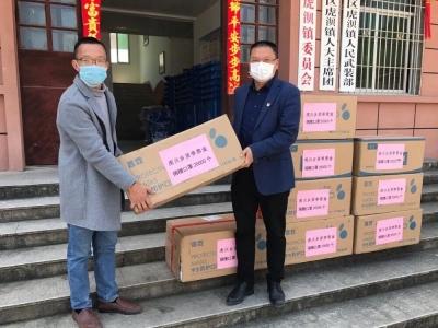 蕉城虎贝:爱心乡贤为小学捐赠2万个口罩
