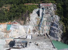周宁抽水蓄能电站项目有序施工