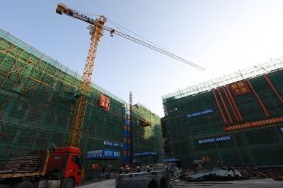 寿宁县康复医院三栋主楼皆已封顶,转入内部施工阶段