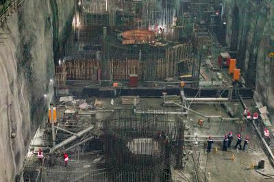 周宁抽水蓄能电站上水库工程完成16%,下水库工程完成30%