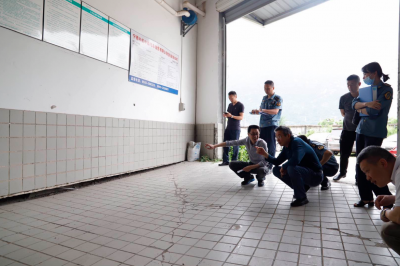 东侨开发区开展房屋结构安全隐患排查行动
