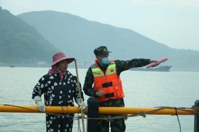 伏季休渔期到来,宁德海警开展普法宣传活动