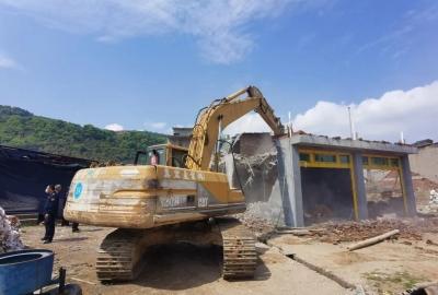 福鼎小白鹭景区:附近一处违法建筑被拆除