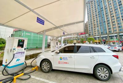 我市加快完善新能源汽车推广基础设施建设