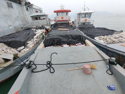 宁德海警在禁渔期连续查获3起涉嫌非法捕捞水产品案