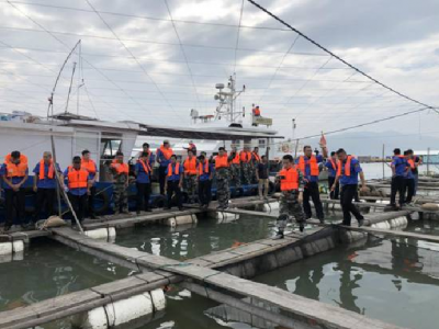 沙埕:开展海上养殖综合整治专项行动