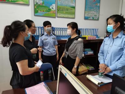 蕉城蕉北街道:对幼儿园校园安全进行检查