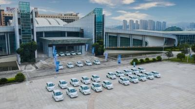 """上汽举办""""电动福建、创芯未来""""新能源车试驾活动"""