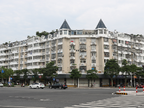 东侨重点线路沿街立面改造完成