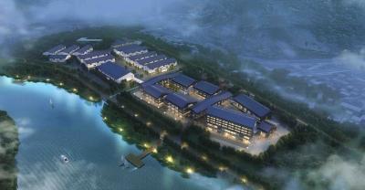 投资4.55亿元的坦洋茶谷今日开工