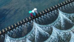 我市多位摄影家齐聚霍童溪采风  碧水青山成风景大片