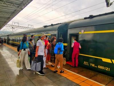 宁德火车站首趟旅游专列今开行  连接宁德、长汀,途经……