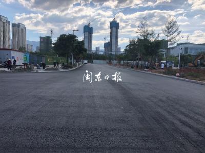好消息!宁德火车站站前广场提升工程接近尾声 预计16日投用