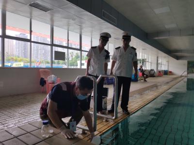 你去的游泳池水质如何、安不安全?  全市游泳场馆专项检查正在进行中