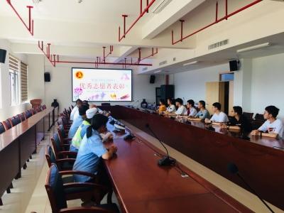 屏南城东社区新时代文明实践站表彰优秀志愿者