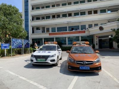 全省首家!罗江考试中心正式启用荣威纯电动汽车作为考试车