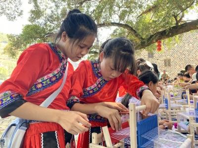穿畲族服装、跳竹竿舞、织布……霞浦这个村推出的研学旅游项目好有趣