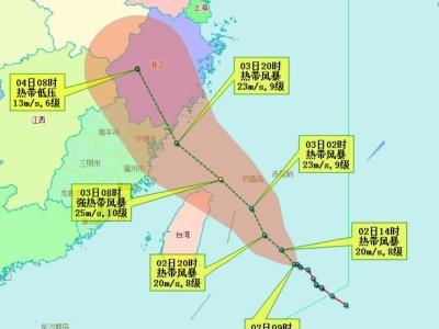 """""""台风预警""""提升为Ⅲ级!明天这些地方有暴雨到大暴雨"""