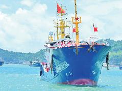 我市1600多艘渔船昨日开渔