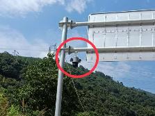 蕉城区这个路段将启用一处监控探头 违反标线要挨罚
