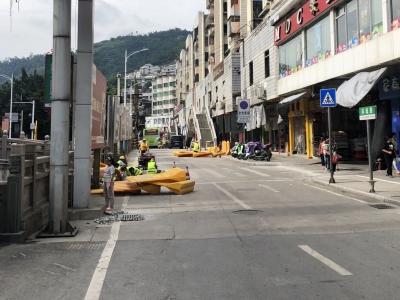 快讯|市区环城路东侧及环城路路段半封闭施工,注意避堵!
