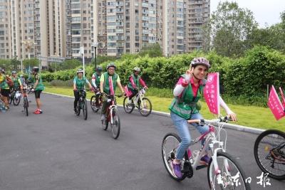 创文明城,做文明人!60位单车侠公益骑行,沿途传递环保理念