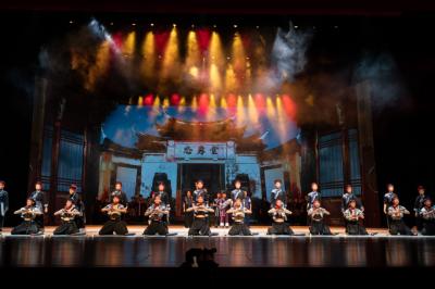 闽东之光丨音乐剧《畲嫂》昨晚在福建大剧院成功首演