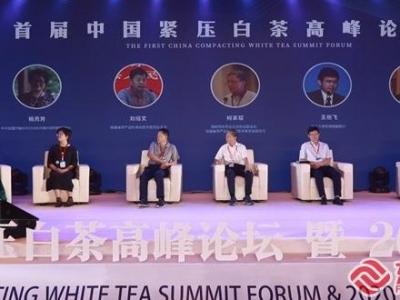 首届中国紧压白茶高峰论坛在福鼎举办 共商紧压白茶发展大计
