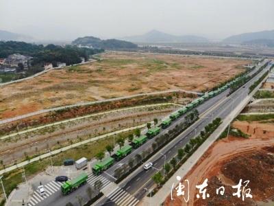 东侨:即将诞生宁德市首家渣土运输许可企业