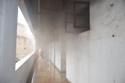快讯!锦福城二层一杂物间发生火灾,及时扑灭,无人员伤亡