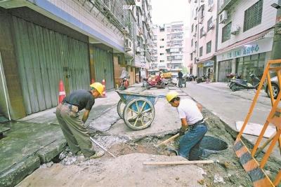 中心城区水环境治理 小区雨污分流改造力争年底完成