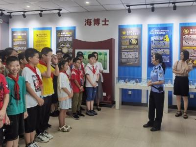 学习了!福鼎这群师生来到林则徐禁毒教育基地……