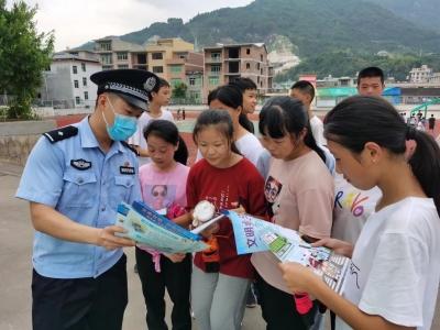 周宁咸村:法制教育进校园,告诉孩子这些东西不能碰