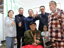 寿宁的这位老英雄,他参加过抗美援朝  还曾立过一等功!