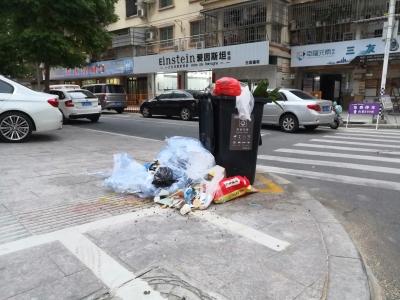 宁德新闻黑榜 | 小区垃圾桶旁垃圾散落有碍观瞻
