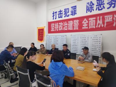"""快讯丨市政法宣传舆论工作培训班学员走进""""杨春警队""""参观采访"""