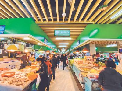 """当""""买菜""""成为一种生活方式  你就明白身边的农贸市场发生了多么深刻的改变"""