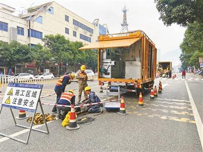 市区有序推进雨污管网修复工程