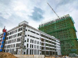 福安市新中医院预计明年底总体完工