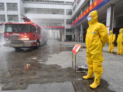防控冬春疫情,市消防救援支队这样做……