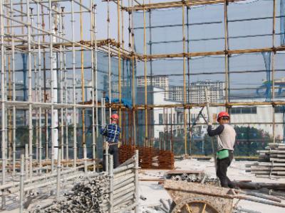 开春见喜 | 东侨重点建设项目复工率近九成