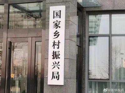国家乡村振兴局亮相,挂上这块牌子意味着什么?