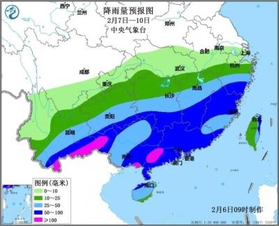 下周二起,福建春节前天气有变!大降温+降雨!