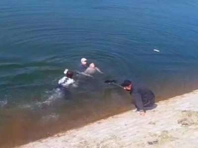 国内主流媒体聚焦古田女警联手供电员工勇救落水父子