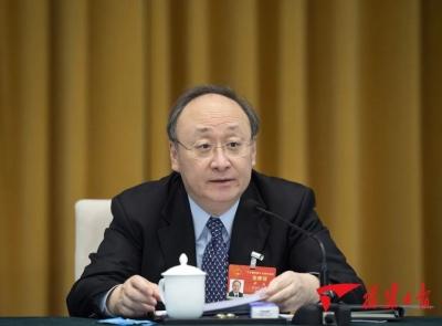 十三届全国人大四次会议福建代表团成立 推选尹力为团长