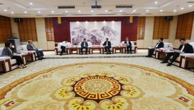 梁伟新会见中信银行福州分行和省民宗厅领导